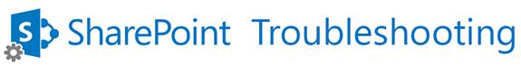 Logo_SharePoint_Troubleshooting